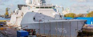 Damen Shiprepair Amsterdam prepara la fragata HNLMS Evertsen para viajar a Japón