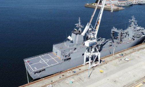 El AAOR Stalwart parte hacia Australia desde Navantia Ferrol