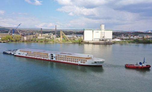 """Nueva generación de cruceros fluviales """"E-motion"""""""