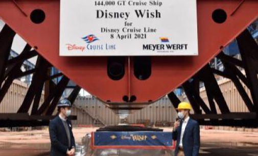 Nuevo lanzamiento de Disney Cruise Line, el Disney Wish