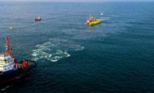 Reinstalación de la plataforma mareomotriz de Magallanes Renovables