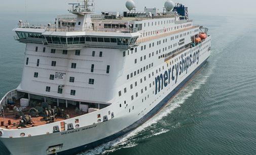 El buque hospital civil más grande del mundo, el Global Mercy™, supera con éxito las pruebas de mar finales