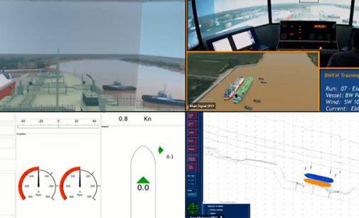 Realizado el primer entrenamiento de capitanes en remoto para la terminal LNG de Escobar en Argentina