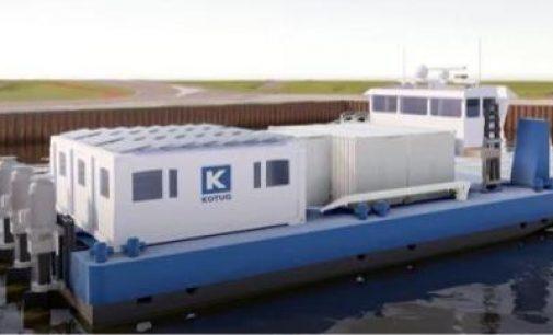 KOTUG lanza sus remolcadores de navegación fluvial de cero emisiones