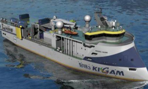 Nuevo buque para la investigación sísmica y oceanográfica construido por Ulstein