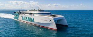 Baleària y Axpo hacen realidad el primer viaje descarbonizado de Europa usando biometano como combustible renovable