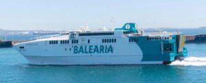 La Fundación Valenciaport retoma la medición de emisiones de cinco buques de Baleària