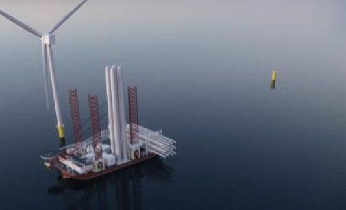 Nuevo buque de instalación de aerogeneradores, el Atlas A-Class, adaptado a las instalaciones de parques eólicos a gran escala