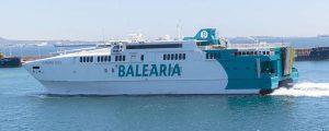 El fast ferry Avemar Dos retoma la línea Ceuta-Algeciras con unos motores más eficientes