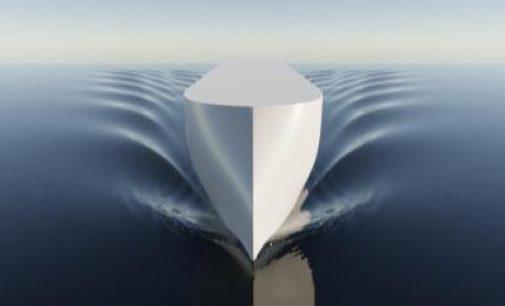 Ulstein diseña un buque portacontenedores X-BOW de propulsión no convencional