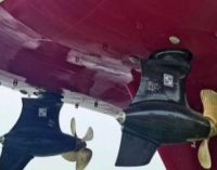 Sistema de propulsión de SCHOTTEL para buque rompehielos Haixun 156