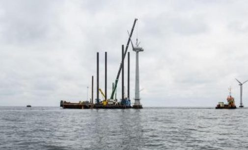Compromiso de Ørsted a reciclar de forma sostenible las palas de los aerogeneradores