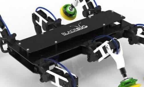 BladeBUG, el robot de inspección y reparación de las palas de los aerogeneradores
