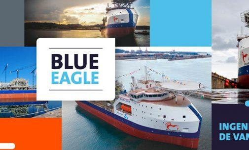 Armón Gijón celebra el bautizo del FPSO Blue Eagle