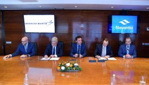 Firma del MoA entre Navantia y Lockheed Martin