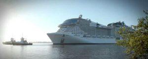 Entrega e inauguración del nuevo buque de MSC Cruceros, Virtuosa