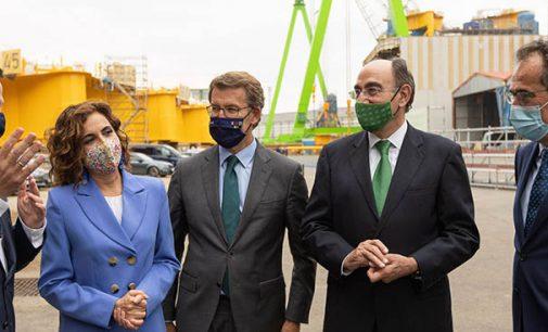 Iberdrola, Navantia y Windar sellan su alianza hasta 2025 para el desarrollo de la eólica marina