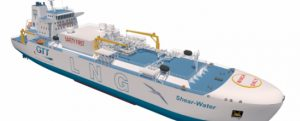 Próximamente veremos un nuevo buque de suministro de GNL sin agua de lastre