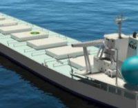 Contrato de fletamento a largo plazo para 3 buques alimentados con GNL para el transporte de materias primas