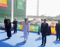 Botadura de la Corbeta Jazan, la 4ª que construye Navantia para Arabia Saudí