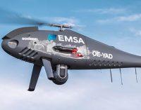 Salvamento Marítimo utiliza drones de EMSA para labores de lucha contra la contaminación y control de tráfico marítimo