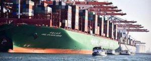 Los puertos marítimos se unen para reducir las emisiones de los buques atracados