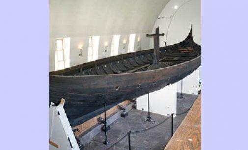 Así se traslada un barco vikingo