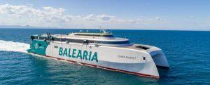 El fast ferry Eleanor Roosevelt deja de emitir más de 3.300 t de C02 en los primeros tres meses de operativa