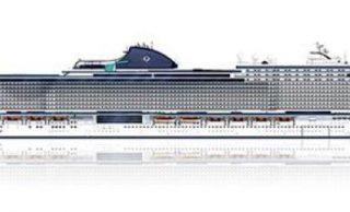 El nuevo buque de MSC es el mayor crucero construido en Italia, el MSC Seashore