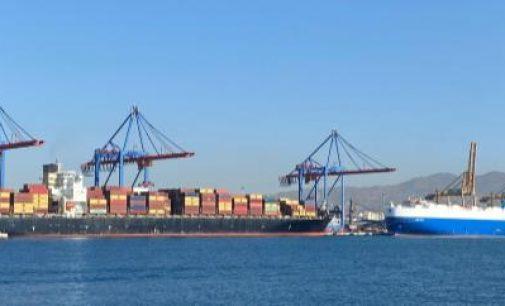 Semana histórica de movimiento de contenedores en el Puerto de Málaga