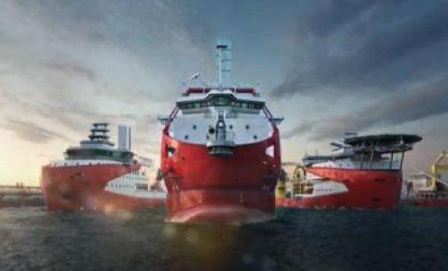 Primer buque de tendido de cables alimentado con metanol