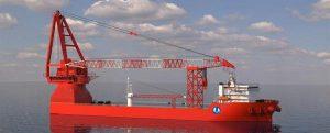 Wärtsilä suministrará propulsores para dos buques de instalación de turbinas eólicas en China