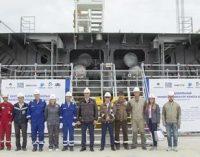 Puesta de quilla del nuevo rompehielos propulsado con GNL, el primero de un pedido de catorce buques