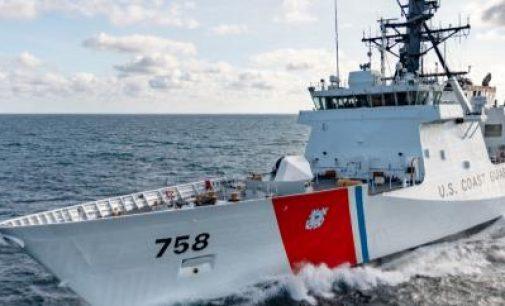 Puesta de quilla de la embarcación de seguridad nacional Calhoun (WMSL 759)