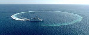 La corbeta Al-Jubail inicia sus pruebas de mar en la Bahía de Cádiz