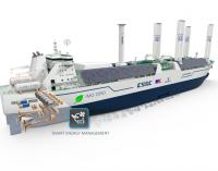 Nuevo desarrollo de un buque de GNL preparado para la IIC IMO 2050