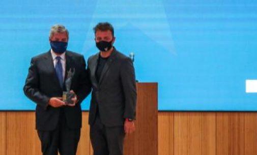 Entrega del premio Aster a la trayectoria profesional