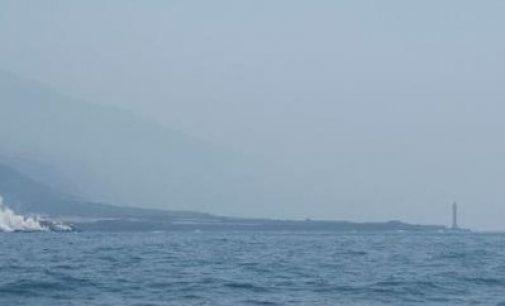 El oceanográfico Ángeles Alvariño se desplaza a La Palma para estudiar el medio marino por la erupción volcánica